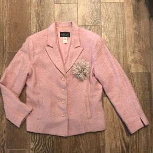 Gorgeous Wool look Pink Blazer